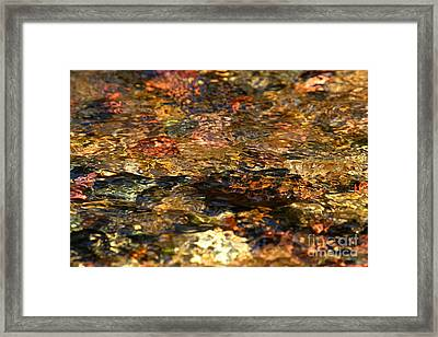 Ripples Of Tranquility Framed Print by Adam Jewell