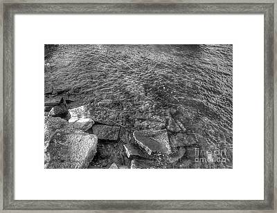 Ripples On Lake Champlain Framed Print