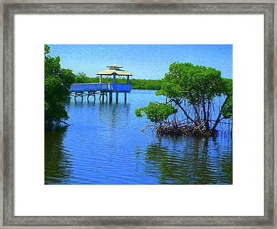 Framed Print featuring the photograph Ripples by Artists With Autism Inc
