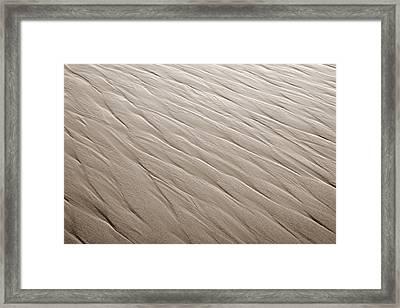 Rippling Framed Print by Marilyn Hunt