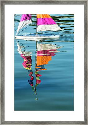 Rippling Reflections Framed Print