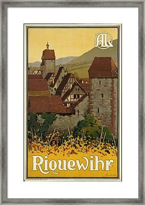 Riquewhir Framed Print