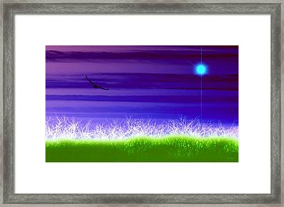 Rise Above Framed Print by Holly Kempe