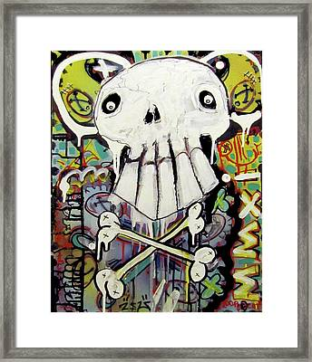 Rise Above Framed Print by Robert Wolverton Jr