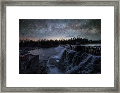 Rise And Fall Framed Print