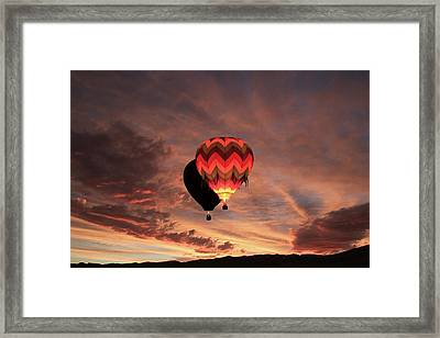 Rise And Shine Framed Print by Donna Kennedy