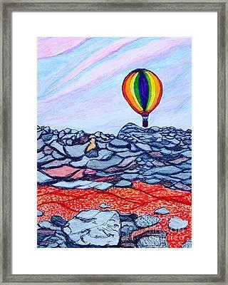 Rise And Shine Framed Print by Ishy Christine Degyansky