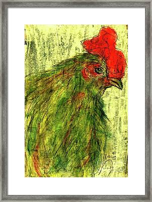 Framed Print featuring the drawing Rise And Shine  by P J Lewis
