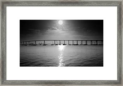 Rise And Shine Framed Print by Ryan Weddle