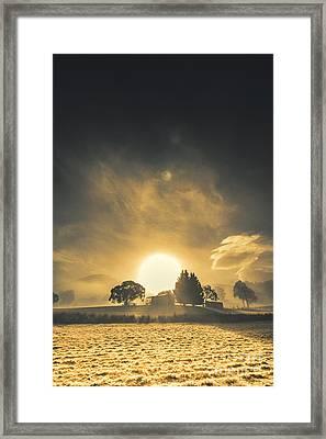 Rise And Shine Framed Print