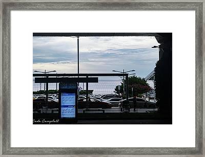 Rise And Shine Seoul Framed Print