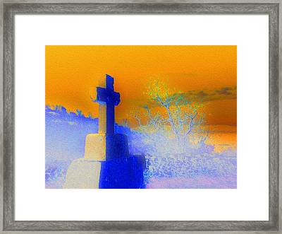 Rise Framed Print by Ann Johndro-Collins