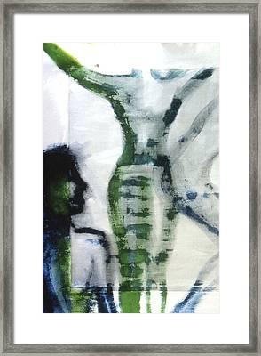 Rise Framed Print by Ingrid Torjesen