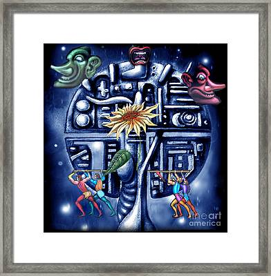 Rise Of The Machines Framed Print by Tighe O'DonoghueRoss