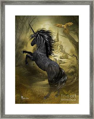 Rise Of The Unicorn Framed Print