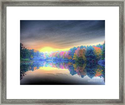 Rise Today Framed Print