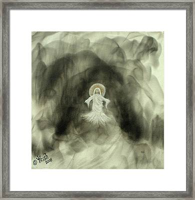 Risen - Original Framed Print by Trish Jenkins
