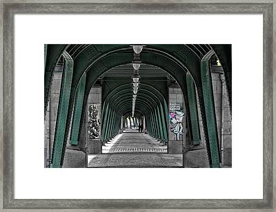 Risen From The Ruins Framed Print