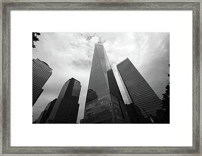 Framed Print featuring the photograph Risen Out Of The Rubble by John Schneider