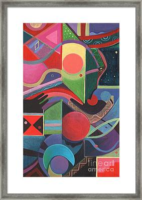 Rising Above And Synergy 2 Framed Print