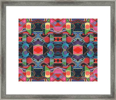 Rising Above And Synergy 4 Framed Print