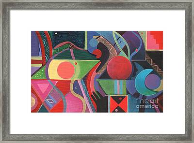Rising Above And Synergy Framed Print by Helena Tiainen