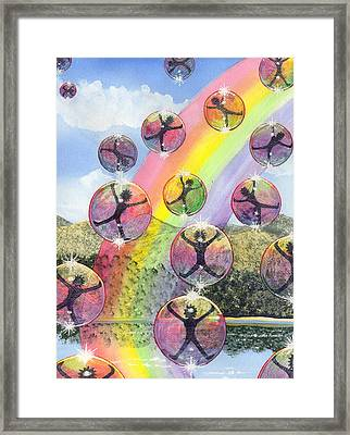 Rising Above It All Framed Print by Catherine G McElroy