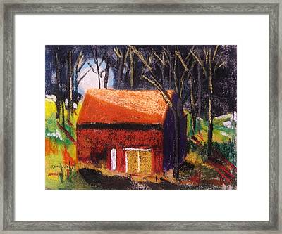 Rising Above The Roof Framed Print by John Williams