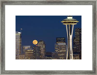 Rising From Buildings A142 Framed Print by Yoshiki Nakamura