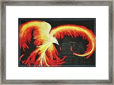 Rising From The Ashes Framed Print
