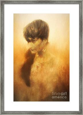 Rising From The Flames Framed Print by Robert Brown
