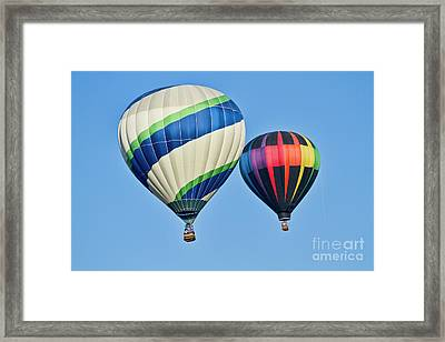Rising High Framed Print by Arthur Bohlmann