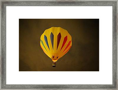 Rising In The Early Dawn Framed Print by Jeff Swan