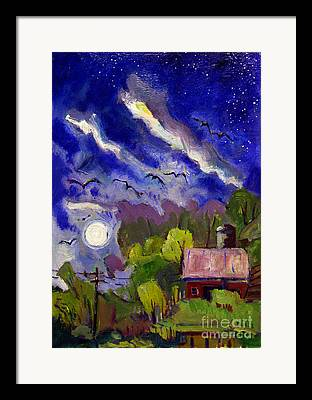 Southern Indiana Paintings Framed Prints