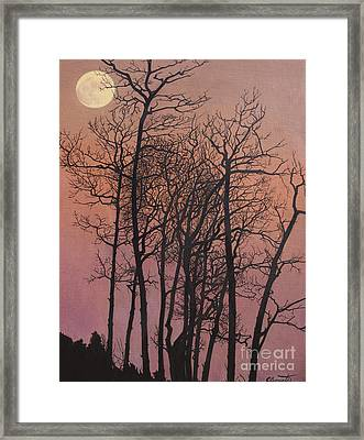 Rising Of The Moon  Framed Print