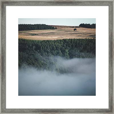 Rising Out Framed Print