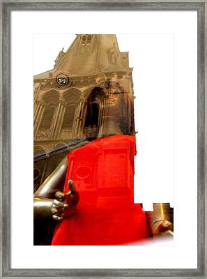 Rising Out Of Church Framed Print by Jez C Self