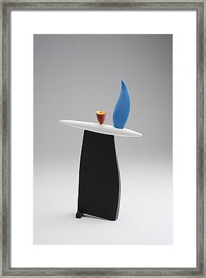 Rising Framed Print by Patricia  Volk