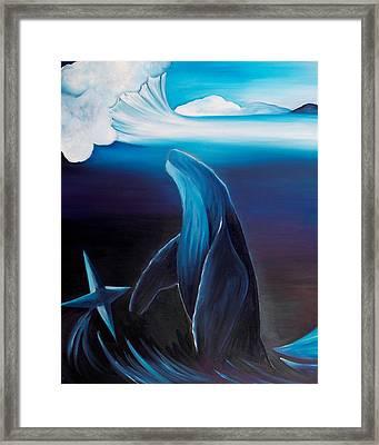Rising Spirit Framed Print by Ara  Elena