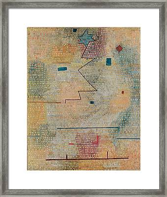 Rising Star  Framed Print by Paul Klee