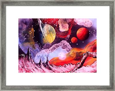 Rising Star  Framed Print by Tony Vegas