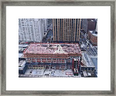 Rising Framed Print