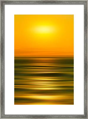Rising Sun Framed Print by Az Jackson