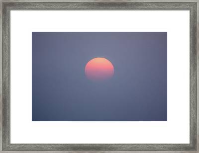 Rising Sun Framed Print by Davorin Mance