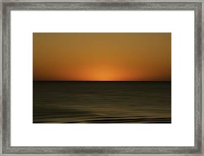 Rising Sun Framed Print by Mario Celzner
