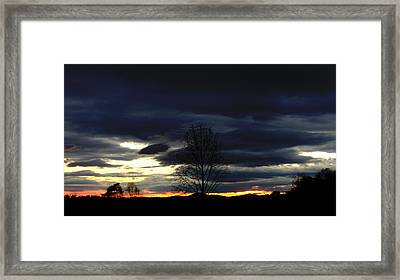 Rising Sun Framed Print by Penny Everhart