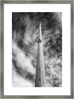 Framed Print featuring the photograph Rising To The Heights by Greg Nyquist