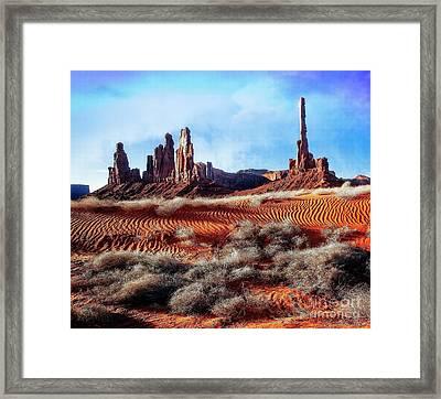 Rising Totem Framed Print