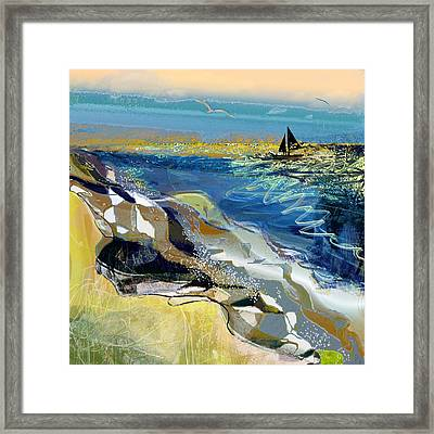 Rising Wind Framed Print by Anne Weirich