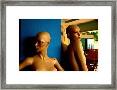 Rita Y Molly Framed Print by Jez C Self